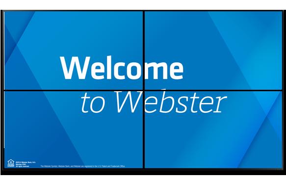 Webster_VideoWall_Welcome